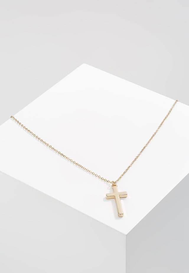 CROSS TOWN NECKLACE - Necklace - gold-coloured