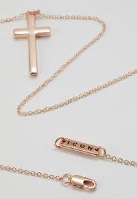 Icon Brand - CROSS TOWN NECKLACE - Náhrdelník - gold-coloured - 2