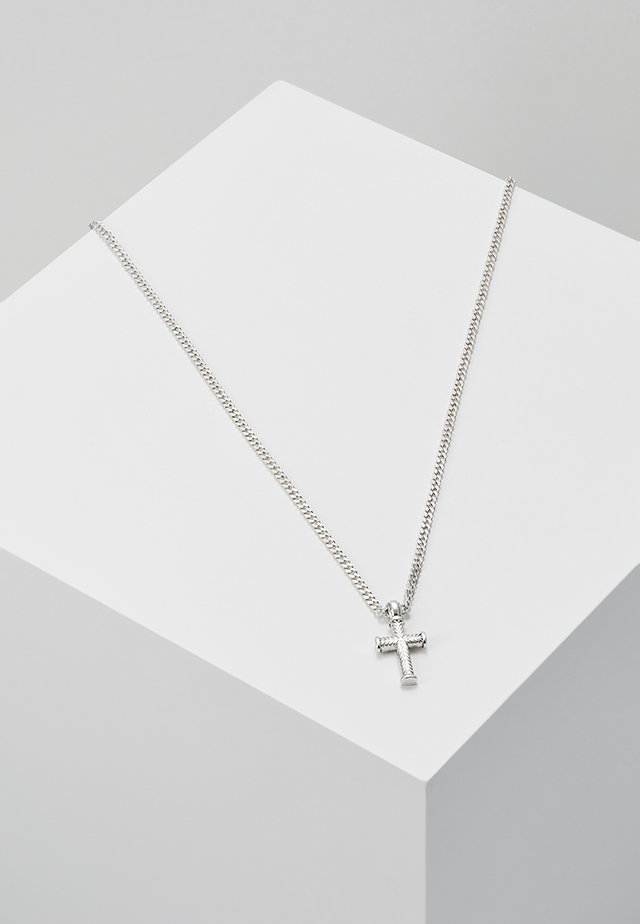 MINI CROSS TO BEAR - Halskette - silver-coloured