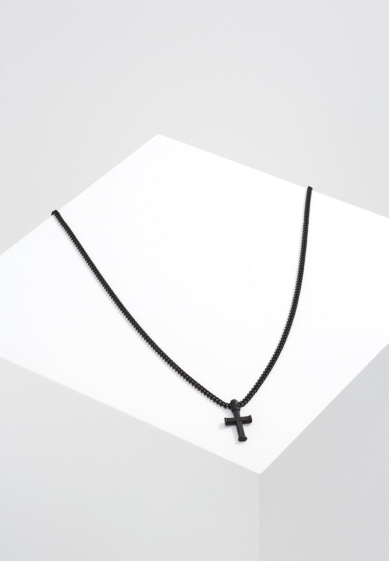 Icon Brand - MINI CROSS TO BEAR - Kaulakoru - black