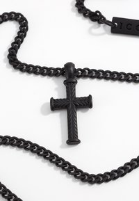 Icon Brand - MINI CROSS TO BEAR - Kaulakoru - black - 3