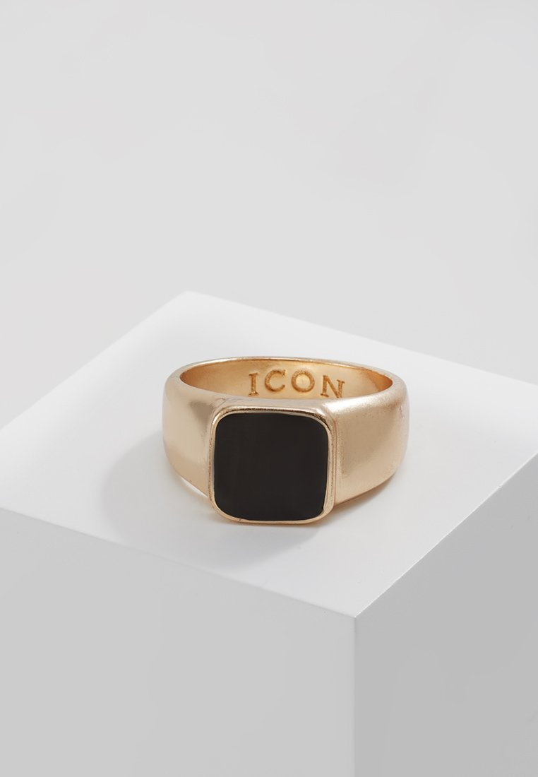 Icon Brand - SIGN OF THE TIMES SIGNET - Prsten - gold-coloured