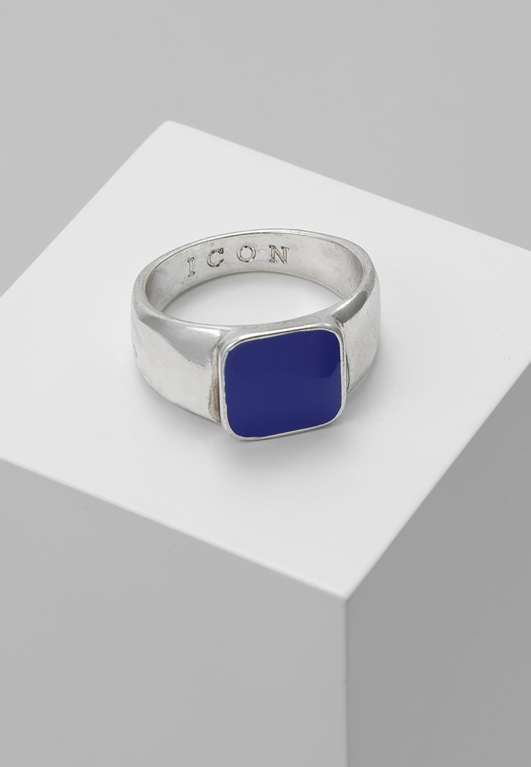 Icon Brand - SIGN OF THE TIMES SIGNET - Ring - blue