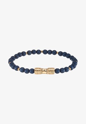 HERRING BEADED BRACELET - Armbånd - navy