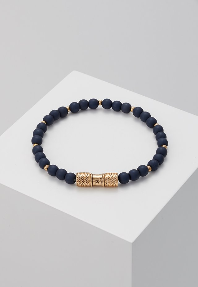 HERRING BEADED BRACELET - Armband - navy