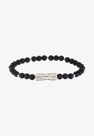 HERRING BEADED BRACELET - Armband - black