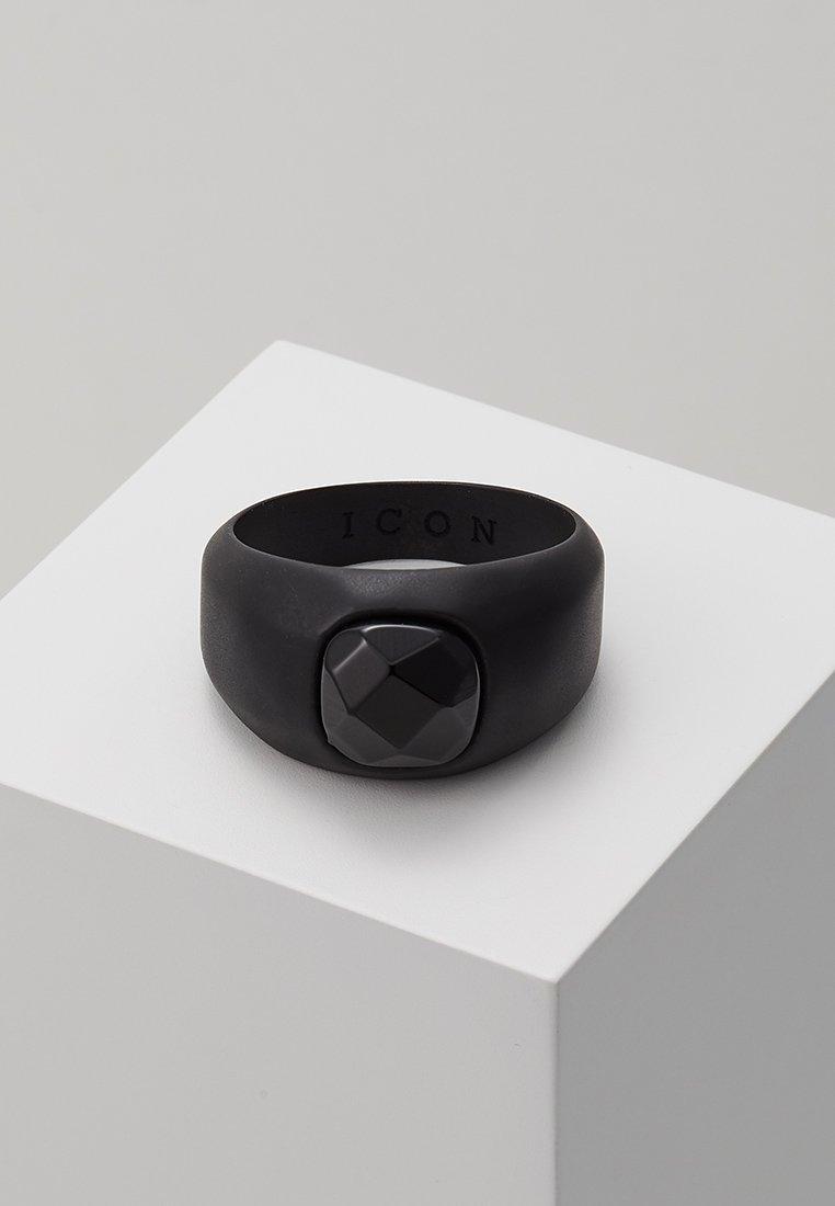 Icon Brand - SIGNET - Anillo - black
