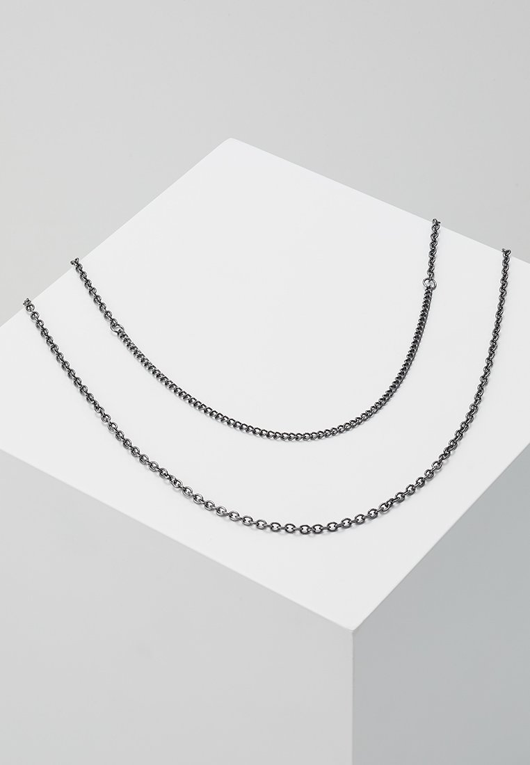 Icon Brand - SNAKE IN THE BOX - Necklace - grey