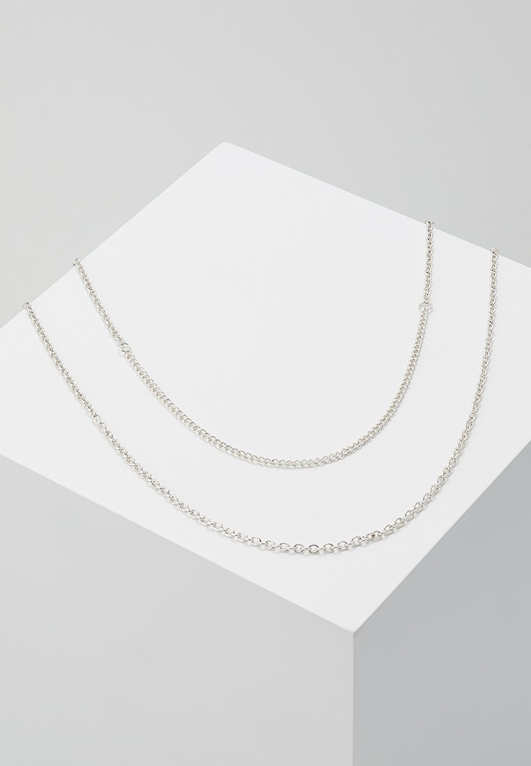 Icon Brand - SNAKE IN THE BOX - Halskette - silver-coloured