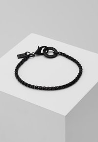 Icon Brand - CHAINED BRACELET - Náramek - black - 0