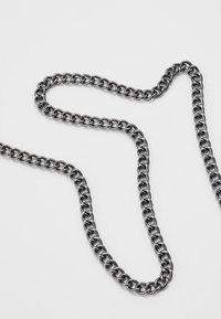 Icon Brand - CURB YOUR DESIRES NECKLACE - Necklace - gunmetal - 4