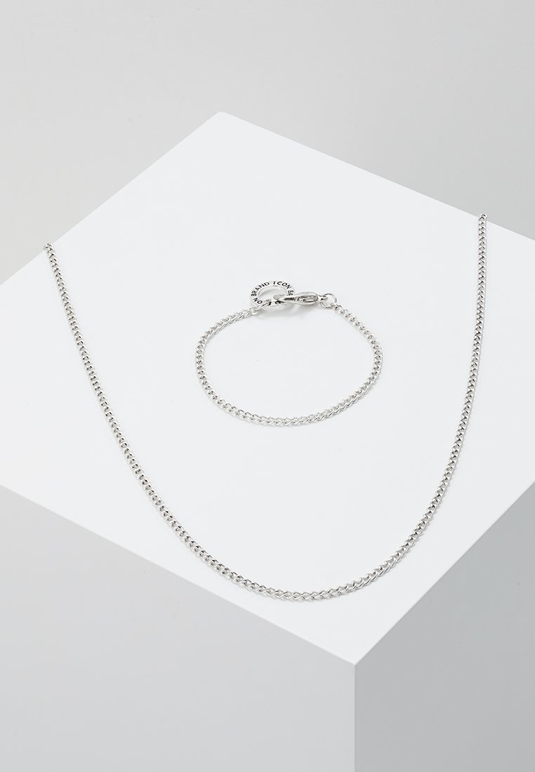 Icon Brand - CHAIN REACTION GIFT SET - Collier - silver-coloured