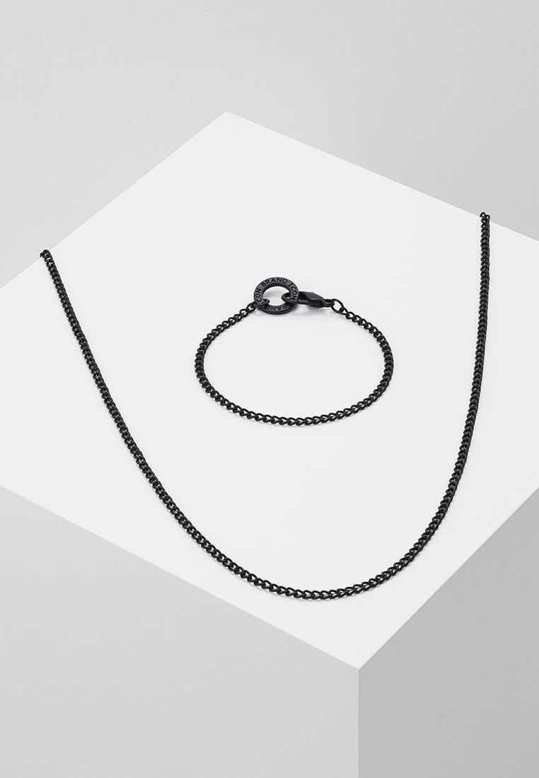 Icon Brand - CHAIN REACTION GIFT SET - Collier - black