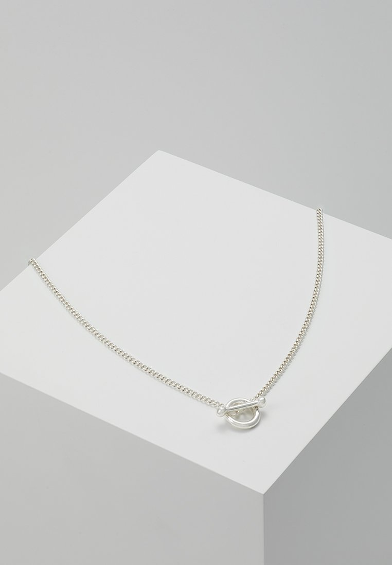 Icon Brand - CATCH NECKLACE - Collier - silver-coloured