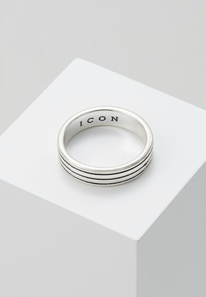PINSTRIPE BAND - Ring - silver-coloured