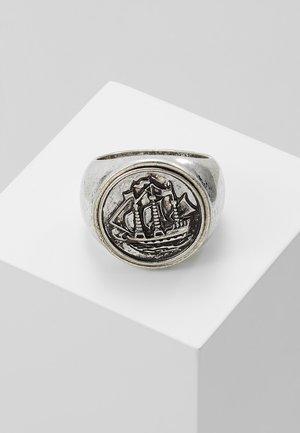 HALF PENNY SIGNET - Bague - silver-coloured