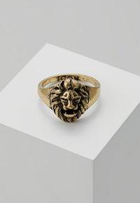 Icon Brand - LION HEAD SIGNET - Ringe - gold-coloured - 0