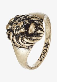 Icon Brand - LION HEAD SIGNET - Ringe - gold-coloured - 3