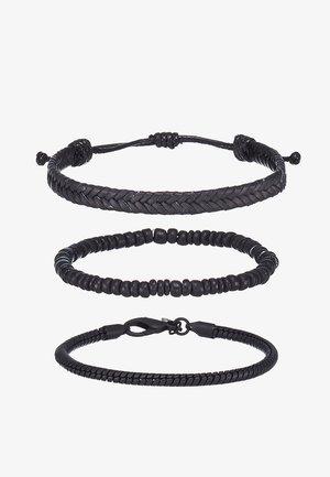 3 PACK - Bracelet - black