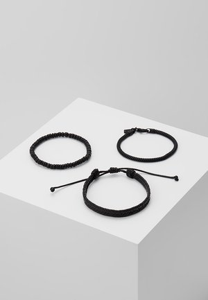 3 PACK - Náramek - black