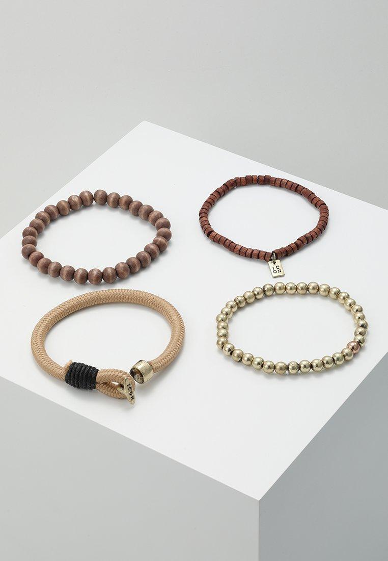 Icon Brand - BILLIONS COMBO 4 PACK - Bracelet - brown