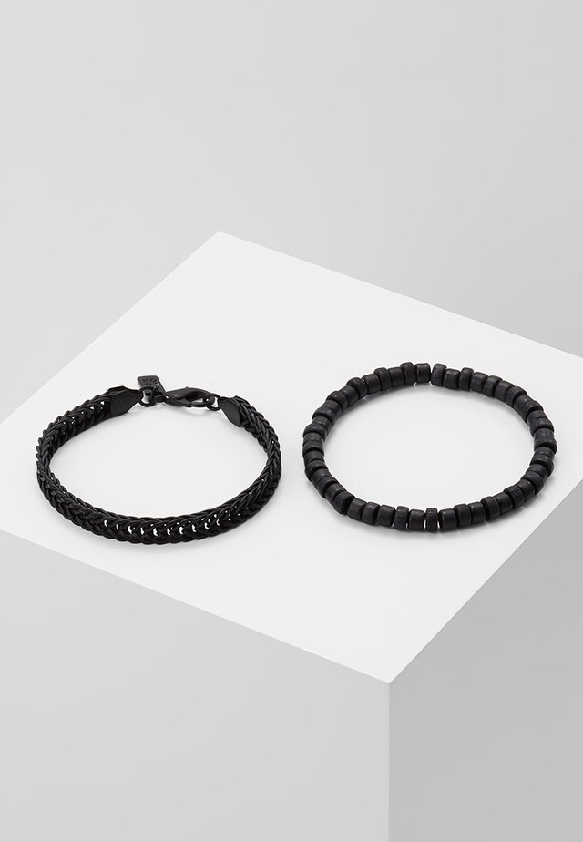 SATURATED COMBO 2 PACK - Armbånd - black