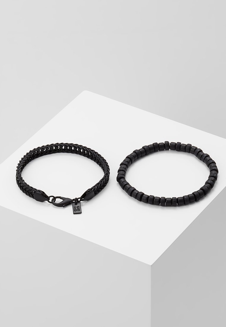 Icon Brand SATURATED COMBO 2 PACK - Armbånd - black