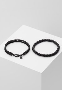 Icon Brand - SATURATED COMBO 2 PACK - Bracelet - black - 2