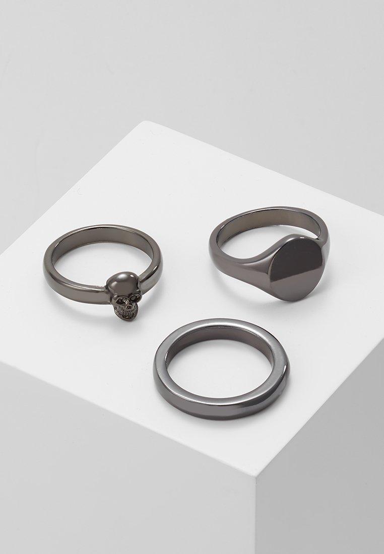 Icon Brand - DANDY RING COMBO - Ring - gunmetal