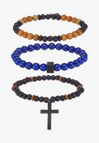 Icon Brand - BARRIER THIEF - Bracelet - navy - 3