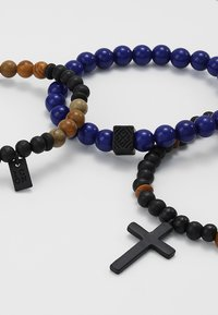 Icon Brand - BARRIER THIEF - Bracelet - navy - 4