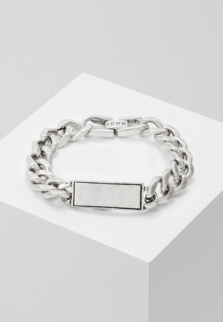 Icon Brand - IDENTITY UNKNOWN BRACELET - Armband - silver-coloured