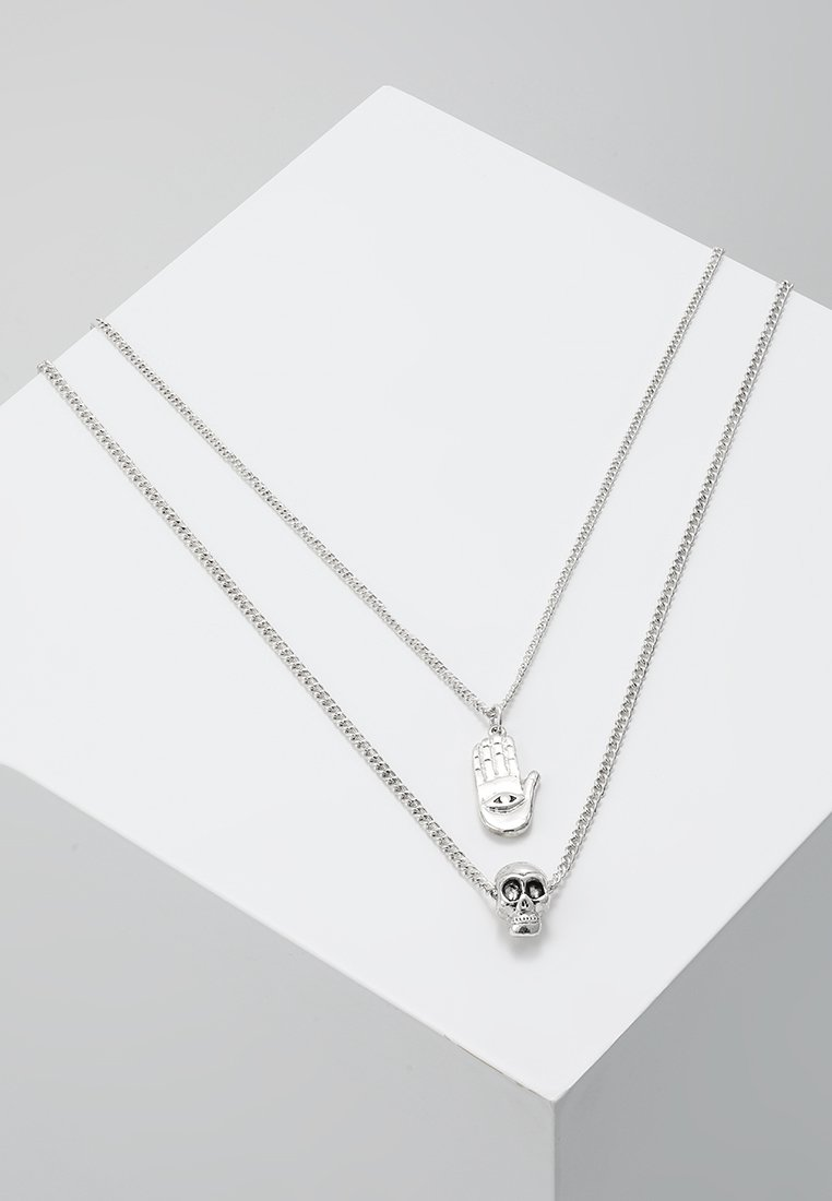 Icon Brand - EYE SEE NECKLACE - Collier - silver-coloured