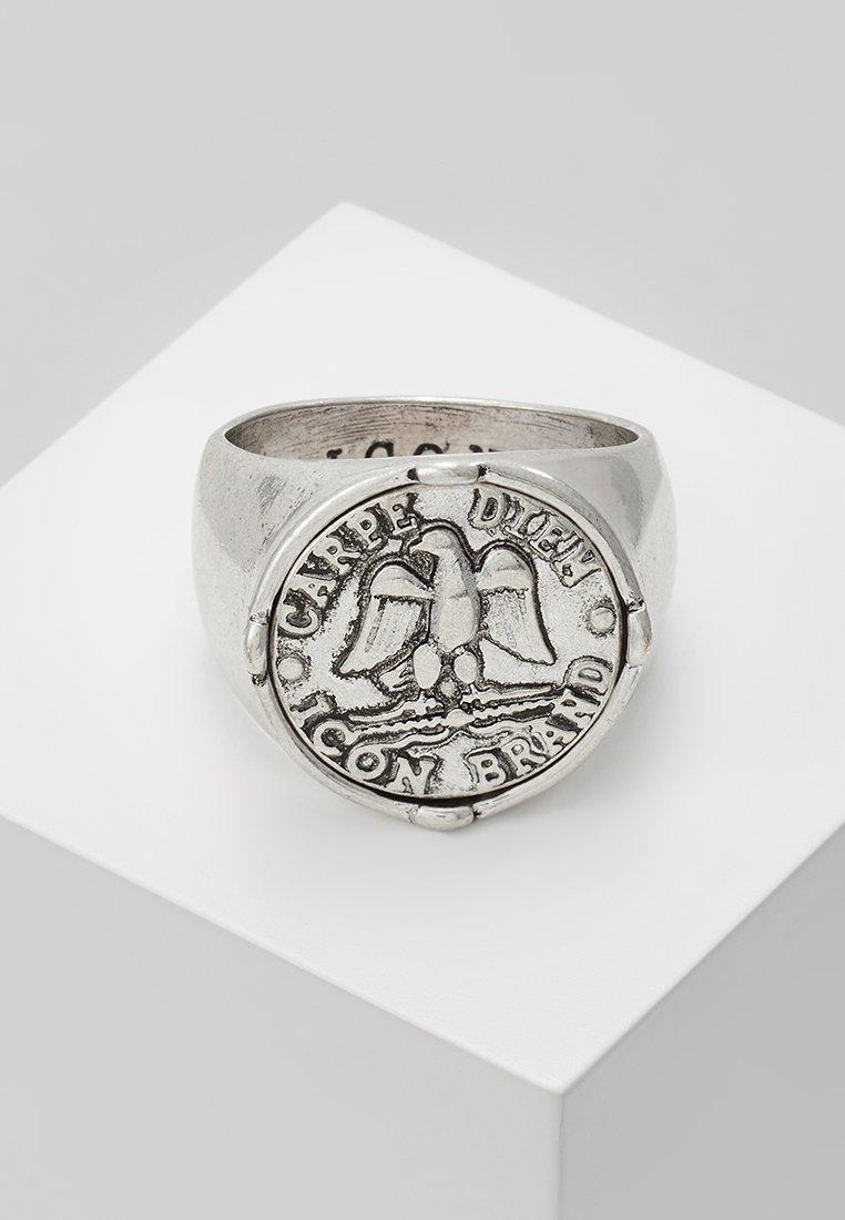 Icon Brand - AQUILLA SIGNET - Ring - silver-coloured