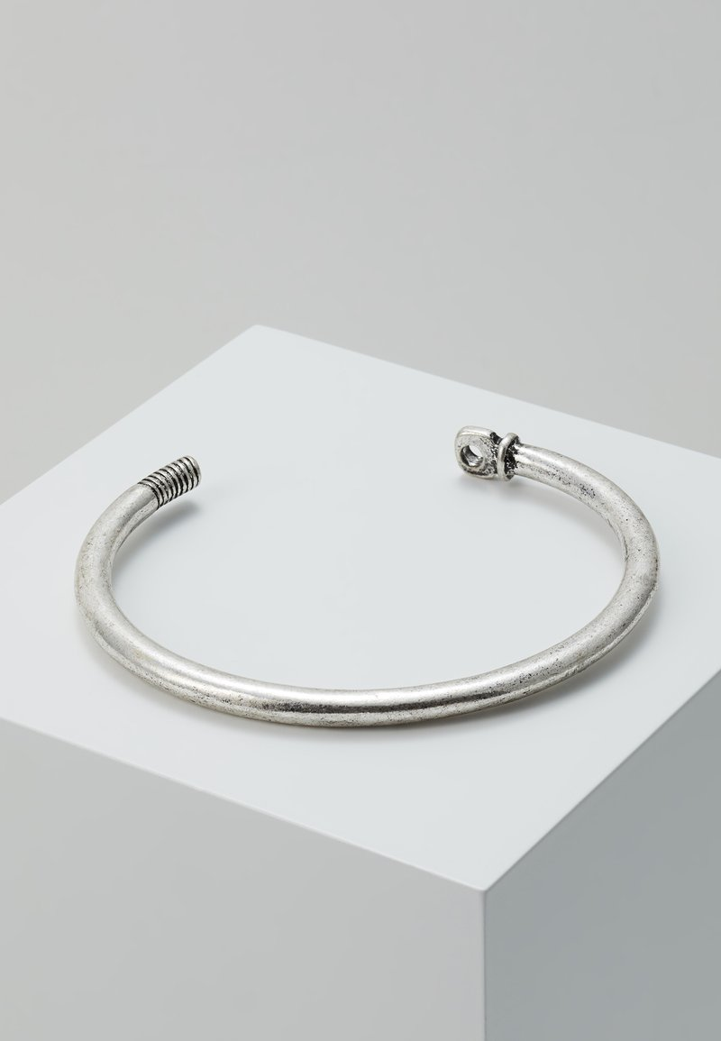 Icon Brand - SHACKLE PIN CUFF - Armband - silver-coloured