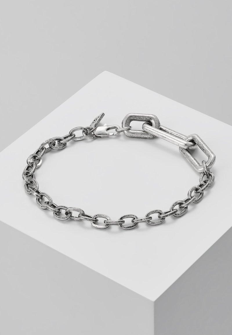 Icon Brand - MISSING LINK BRACELET - Bracelet - silver-coloued
