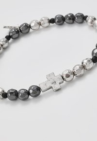 Icon Brand - CROSS BREED BRACELET - Armband - silver-coloured - 4
