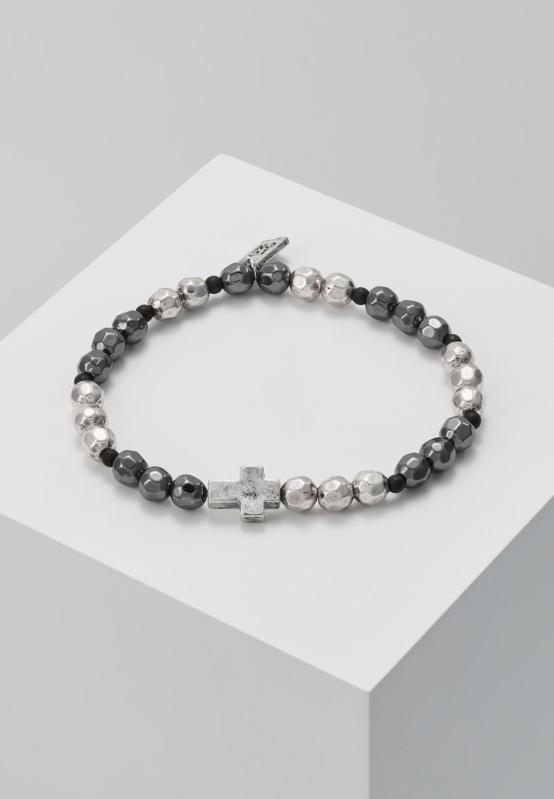 Icon Brand - CROSS BREED BRACELET - Armband - silver-coloured