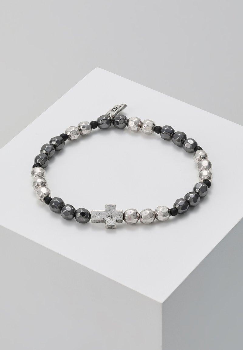 Icon Brand - CROSS BREED BRACELET - Rannekoru - silver-coloured