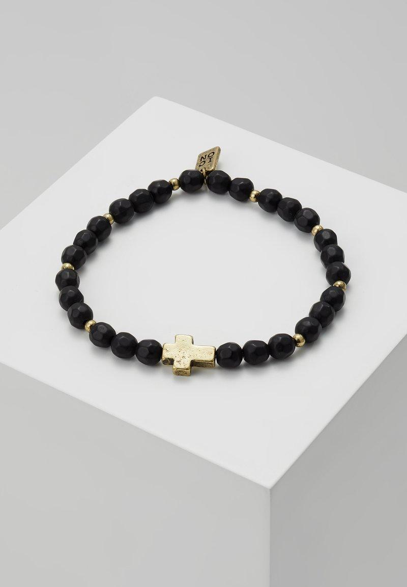Icon Brand - CROSS BREED BRACELET - Bracelet - black