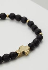 Icon Brand - CROSS BREED BRACELET - Bracelet - black - 4