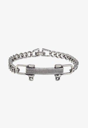 SHACKLE PIN BRACELET - Armband - silver-coloured