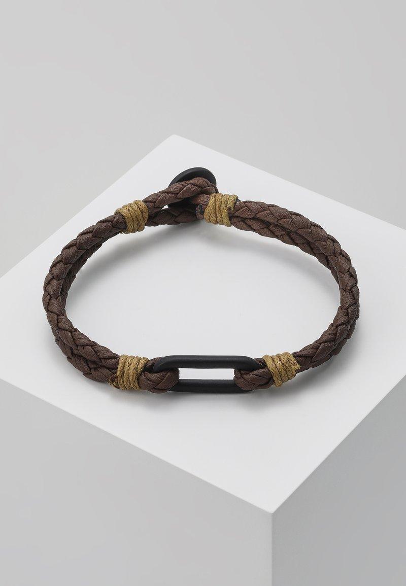 Icon Brand - SEPERATOR BRACELET - Bracciale - brown