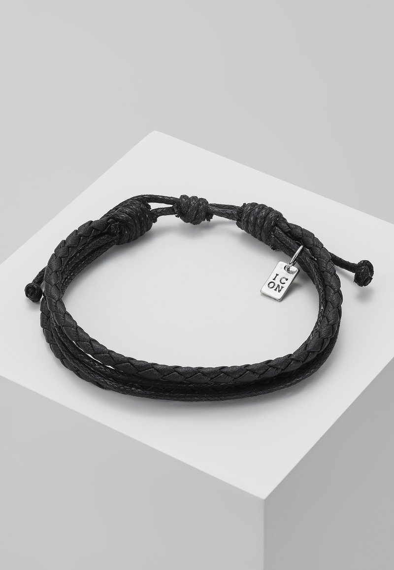 Icon Brand - DARKNESS BRACELET - Náramek - black