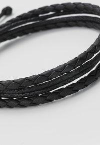 Icon Brand - DARKNESS BRACELET - Náramek - black - 4