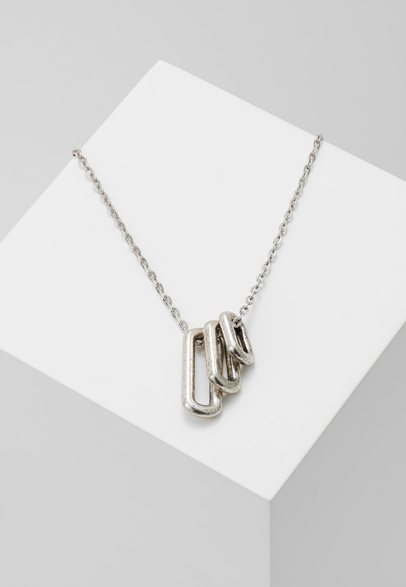 Icon Brand - MISSING LINK NECKLACE - Kaulakoru - silver-coloured