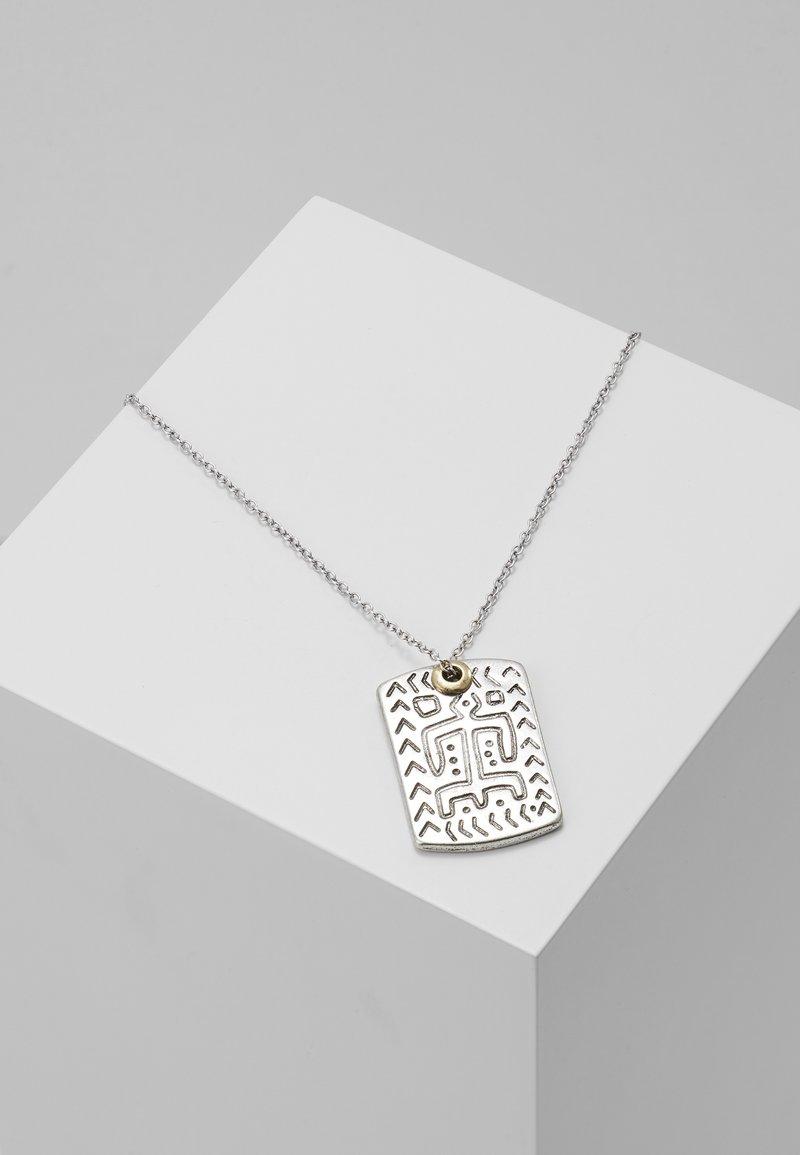 Icon Brand - DYULA NECKLACE - Halskæder - silver-coloured