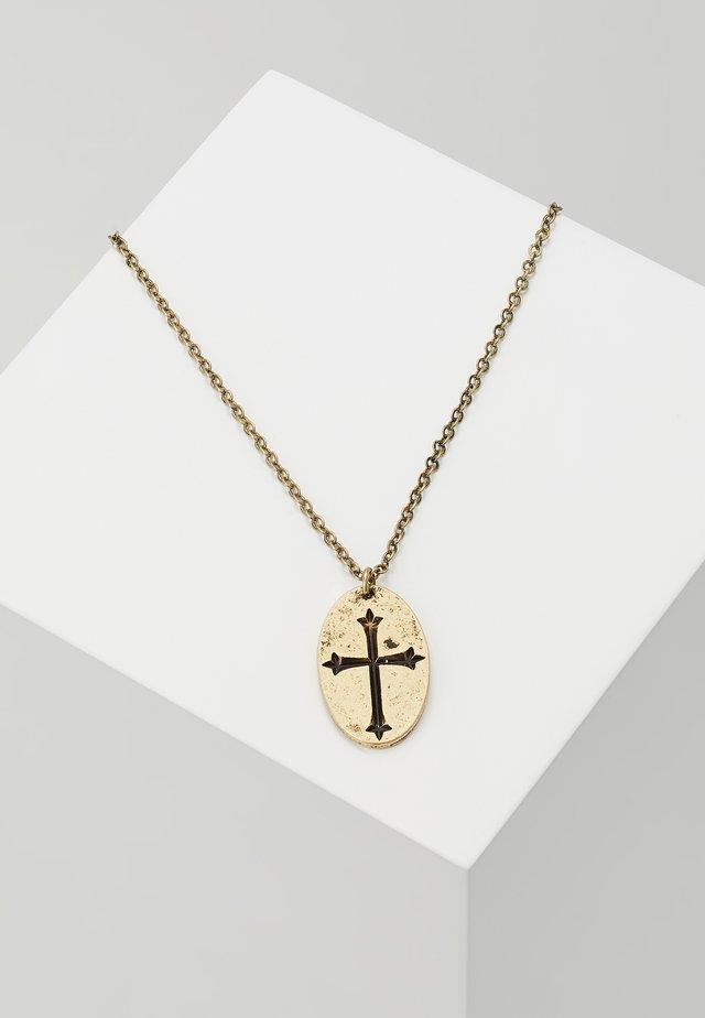 CROIX NOUVELLE NECKLACE - Halsband - gold-coloured