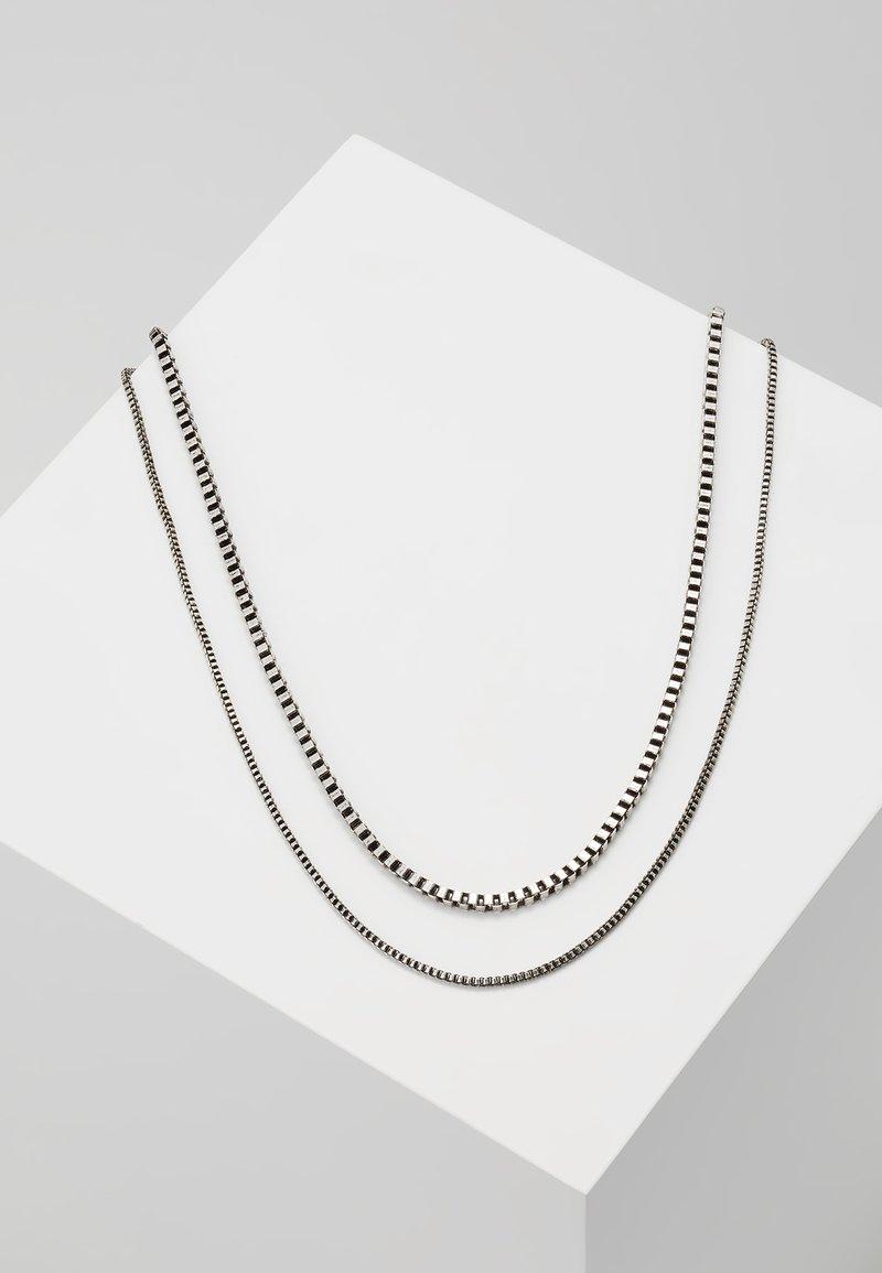 Icon Brand - STRUTT NECKLACE - Halskette - silver-coloured