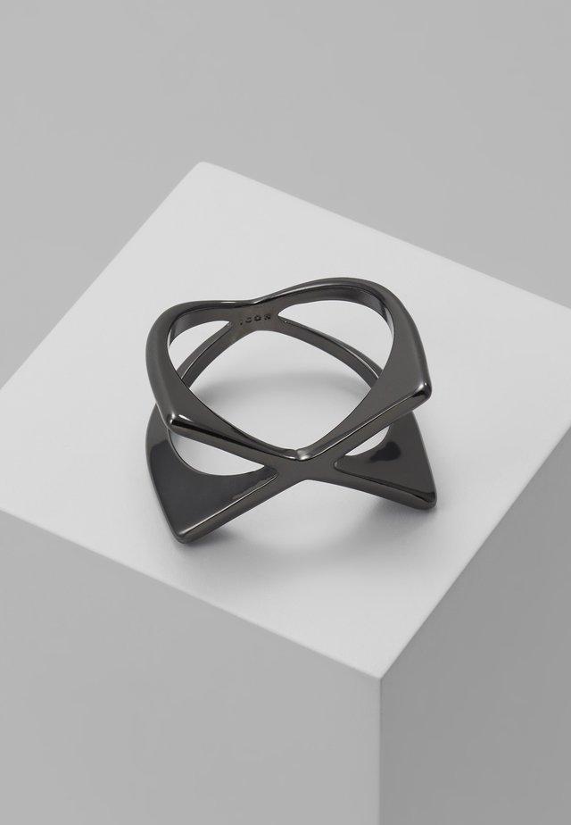 XAGON - Ringar - gunmetal